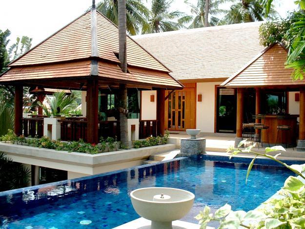baan bua i thai balinese custom villa - Balinese House Designs